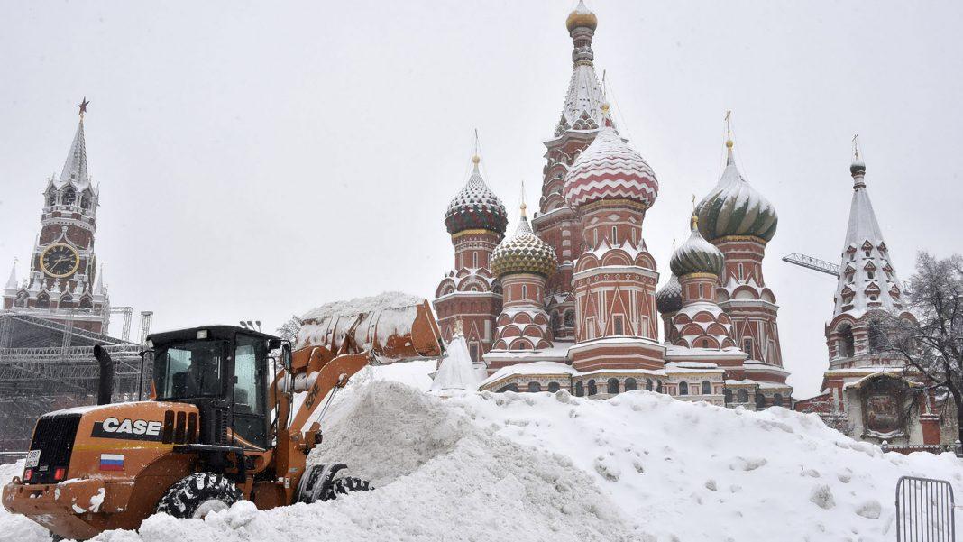 Moscú Nevada del Siglo