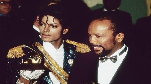 Quincy Jones y Michael Jackson