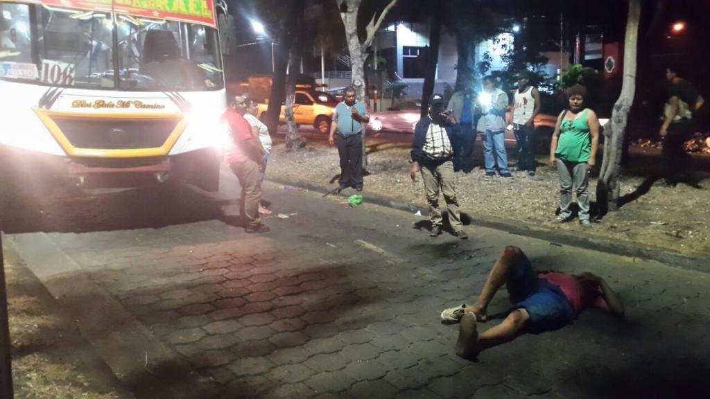 El accidente ocurrió cerca de la UNAN-Managua