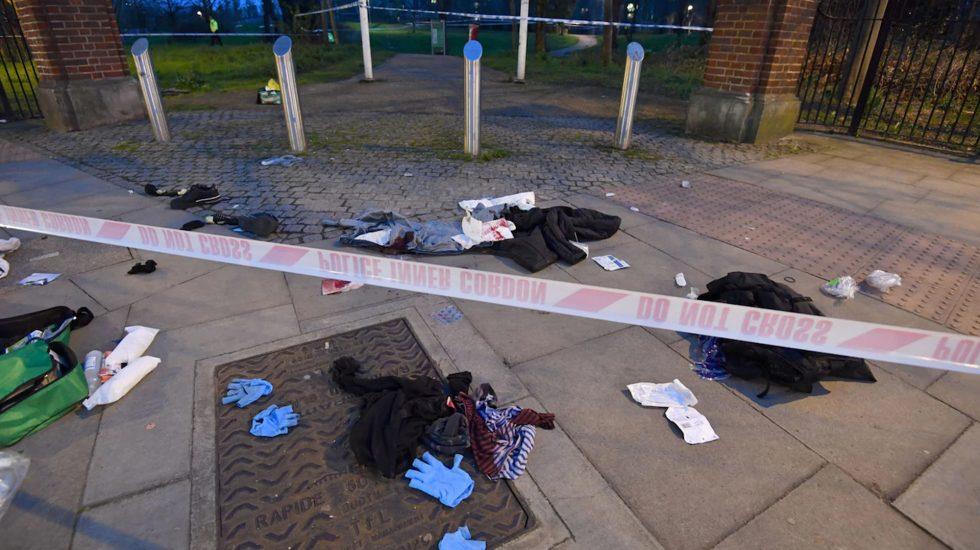 En menos de 90 minutos, seis jóvenes fueron apuñalados en la capital británica