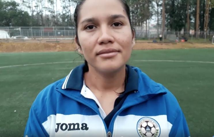 Jeniffer Fernández DT de la Sub17 de Nicaragua