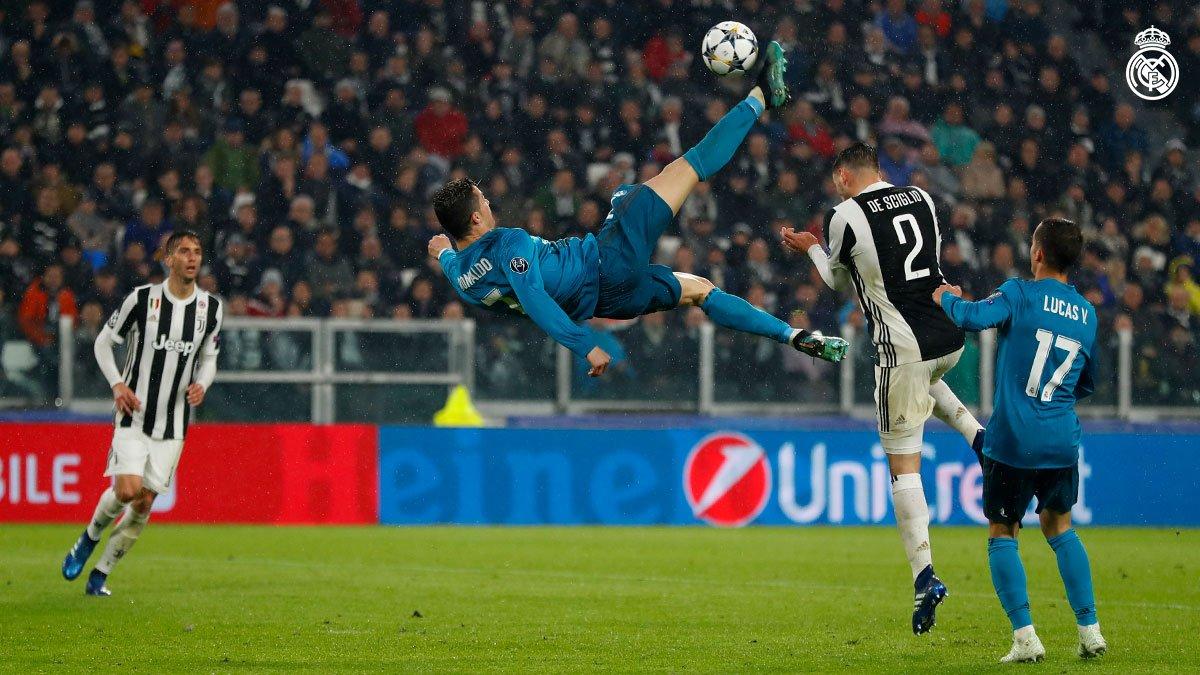 ¿La chilena de Cristiano Ronaldo es el mejor gol en la historia de la  Champions  e384f7ac69039