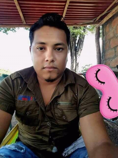 Dubalier Pulido Altamirano, de 24 años