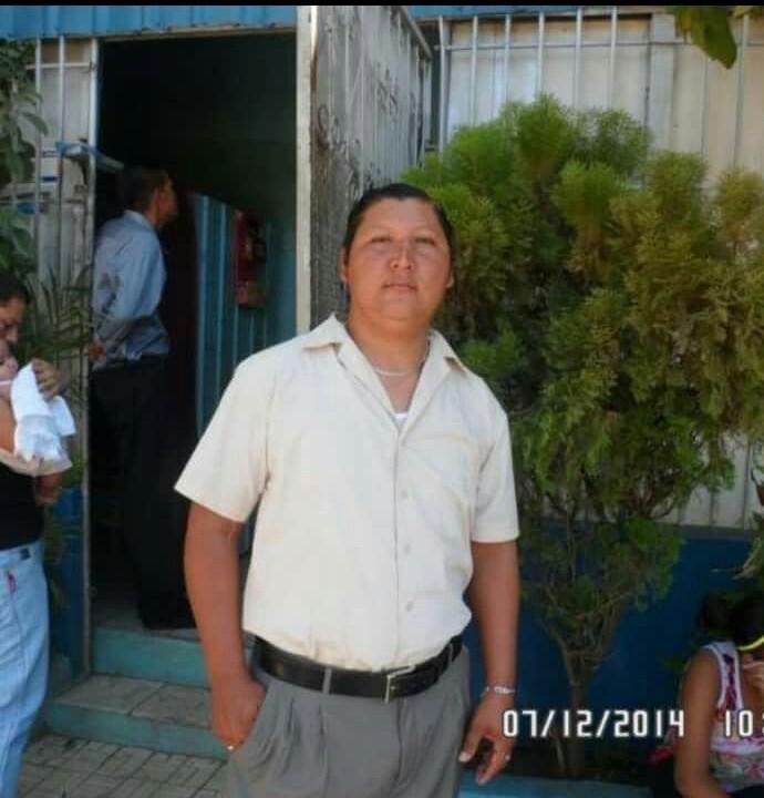 La víctima del accidente Allan Gustavo Padilla López