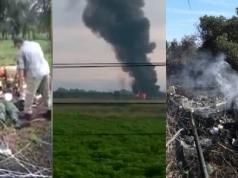 Un avión militar se estrelló en Brasil y sus 2 pilotos lograron eyectarse a tiempo