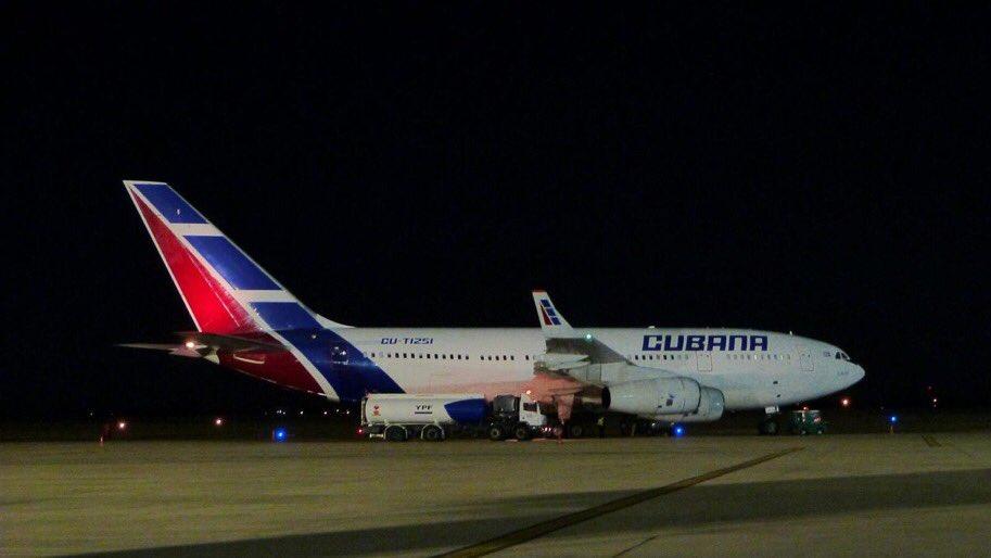 Avión tipo Boeing 737 de Cubana de Aviación
