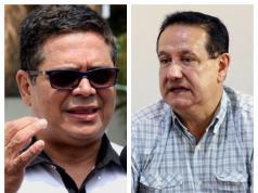 Los analistas políticos Fanor Avendaño y Roberto Brenes