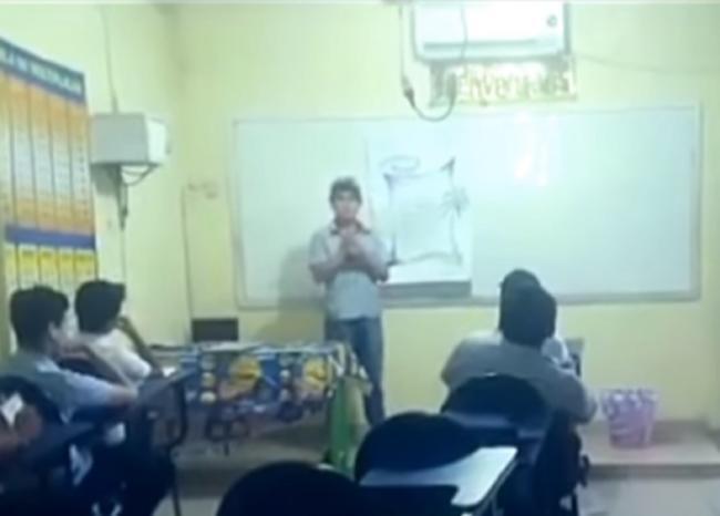 Fantasma aterroriza a unos alumnos en Bolivia