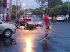 """La fatalidad se registró del Auto Lote """"El Chele"""", una cuadra abajo"""