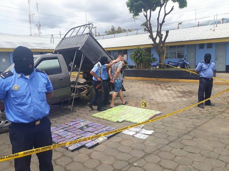 Policía Nacional incauta 119 kilos de coca