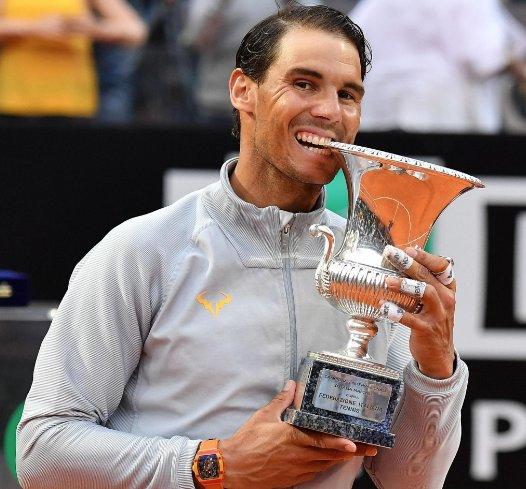 Rafael Nadal aparecerá este lunes como el tenista número uno del mundo