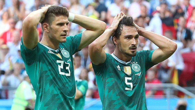 Alemania eliminada de Rusia