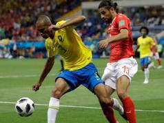 Brasil empata 1-1 con Suiza