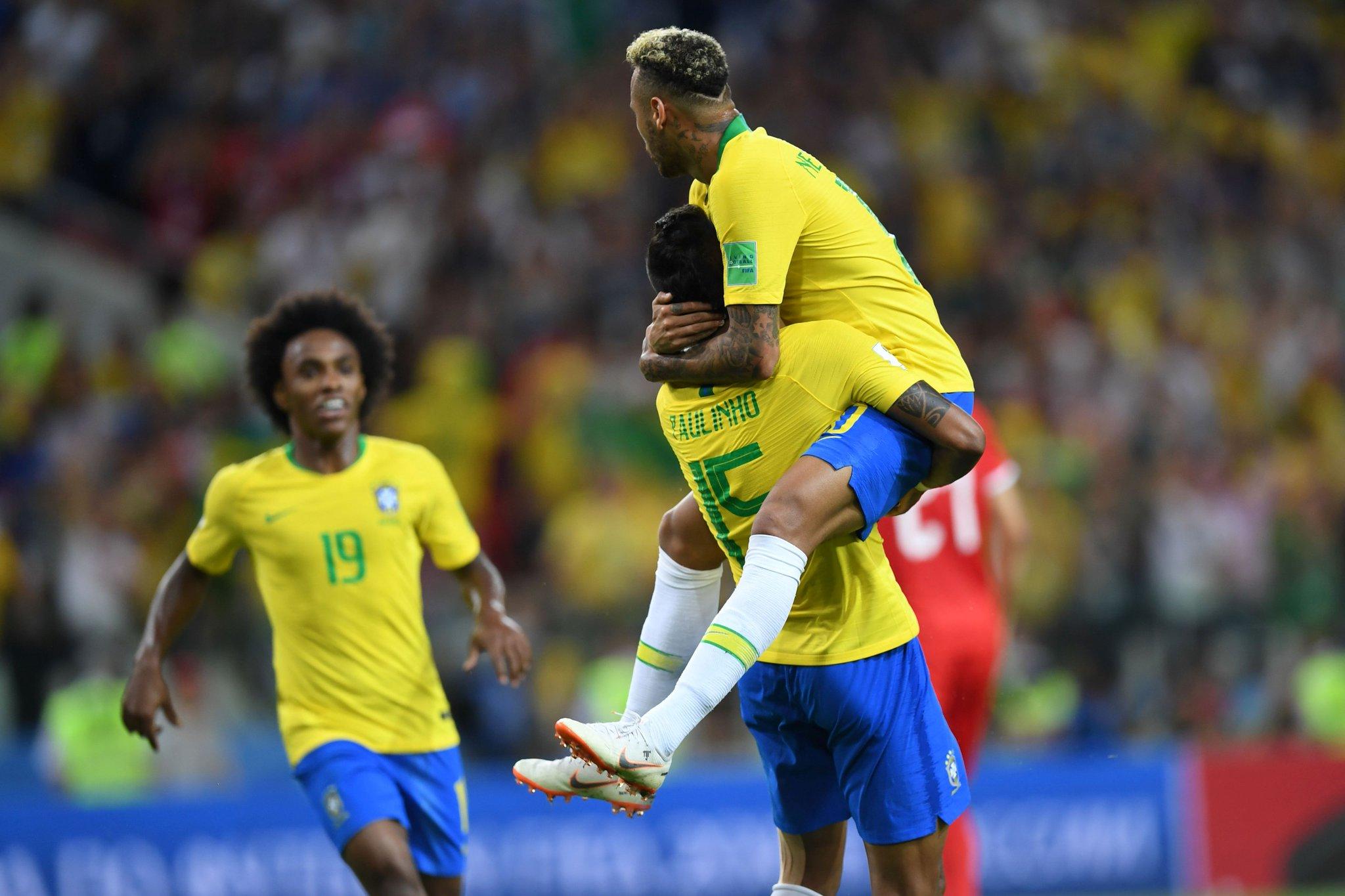 Brasil le ganó a Serbia y avanza a octavos de final