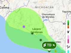 La tormenta tropical Carlotta se convirtió en una depresión tropical