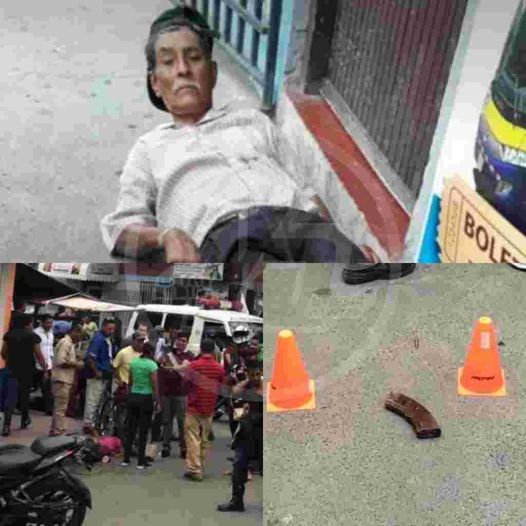 El ataque ocurrió en las afueras de la Farmacia Estelí, ubicada en las cercanías del parque 16 de julio