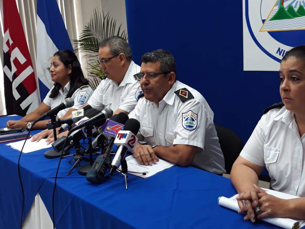 El Comandante Ramon Landeros, jefe de la Dirección General de Bomberos