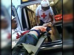 Pablo Ramos Chavarría, de 21 años, casi muere quemado por los vándalos