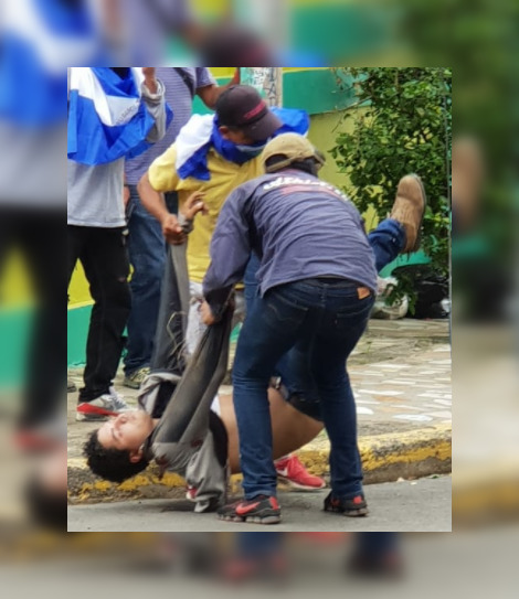 El cobarde crimen ocurrió esta mañana en el barrio Nueva Libia, en Managua