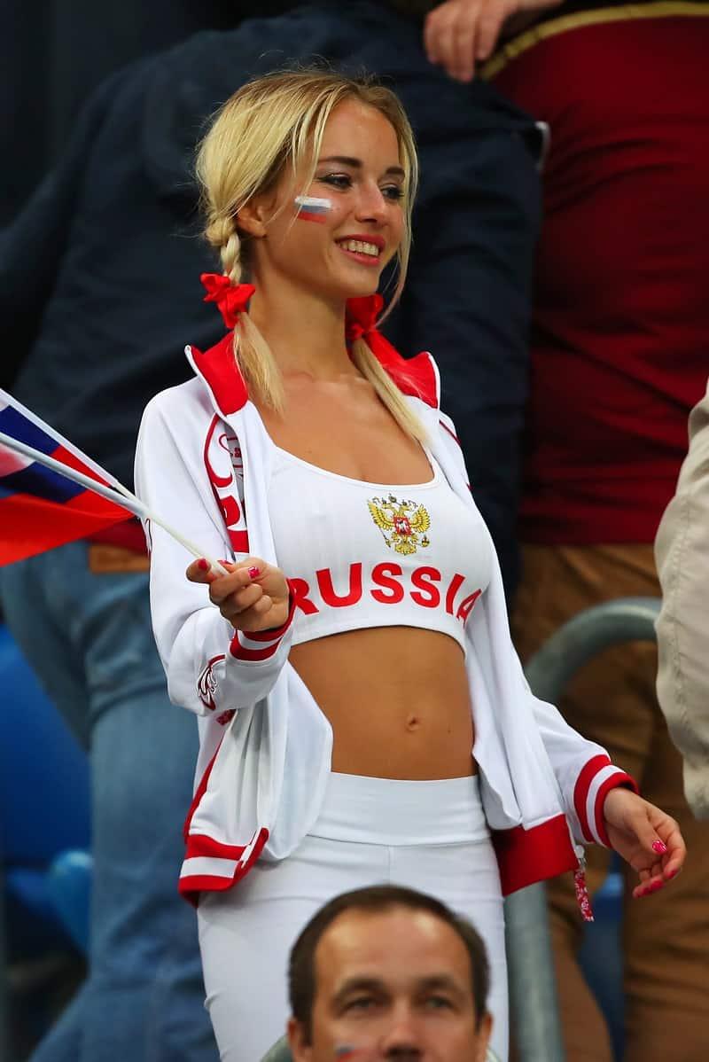 Actrices Porno Rusas Joven la fanática rusa más sexy del mundial resultó ser una actriz