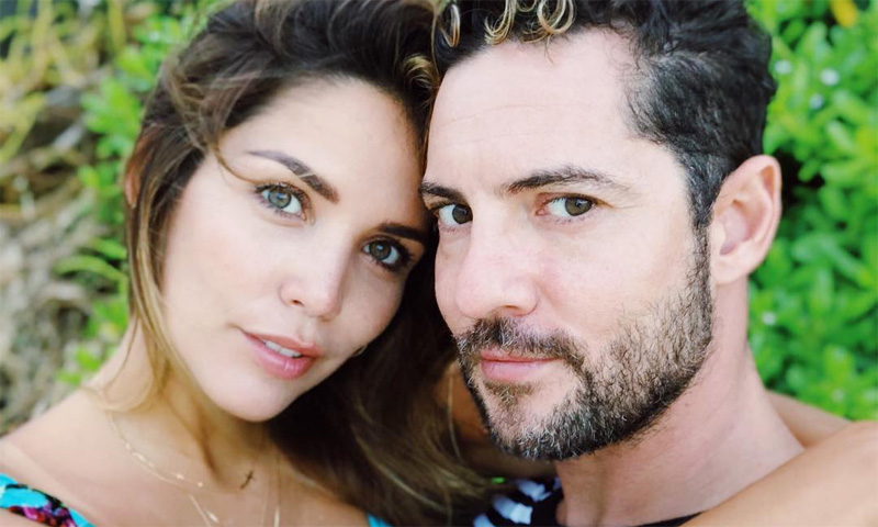 David Bisbal y su novia la modelo venezolana Rosanna Zanetti