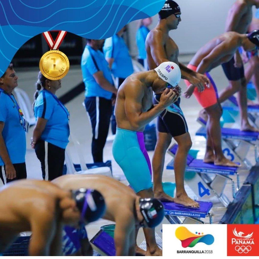 El panameño Edgar Crespo consiguió la primera medalla de oro