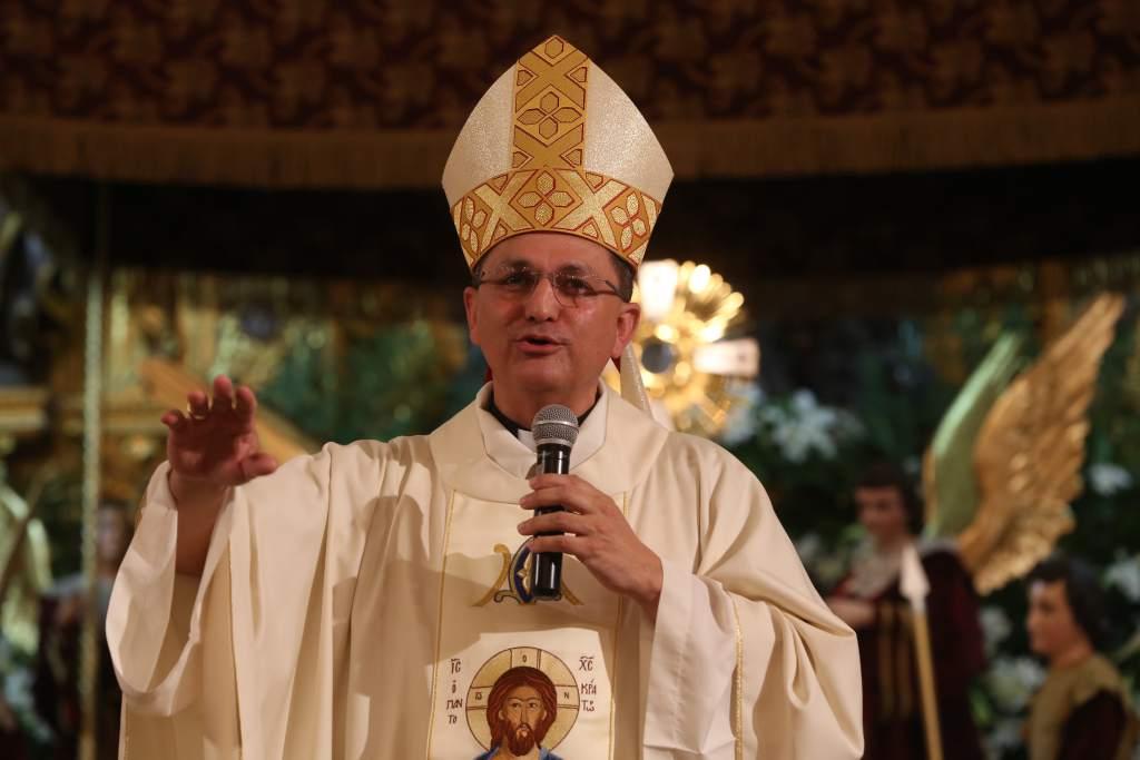 El obispo Juan José Pineda Fasquelle. Foto Cortesía La Prensa de Honduras