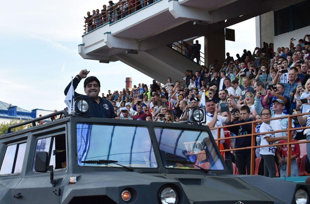 Maradona estará ligado a esta franquicia por las próximas tres temporadas