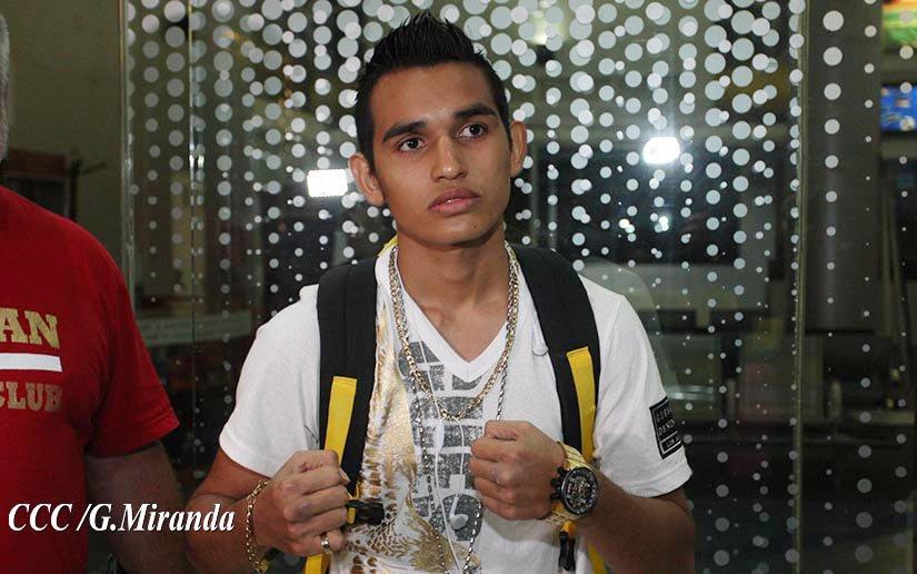 Melvin López es uno de los más grandes prospecto del boxeo en Nicaragua