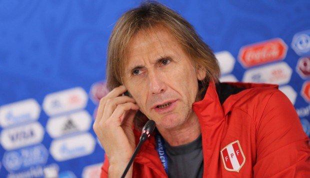 El actual técnico de Perú, Ricardo Gareca