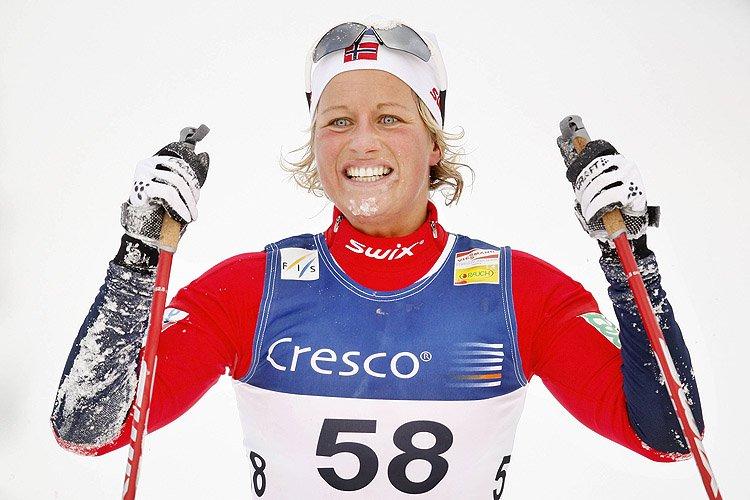 La campeona olímpica noruega Vibeke Skofterud