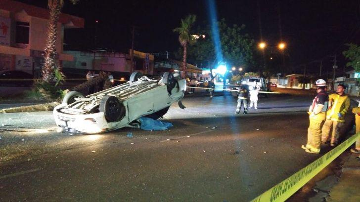 Así quedó el automóvil del cantante mexicano Jorge Valenzuela