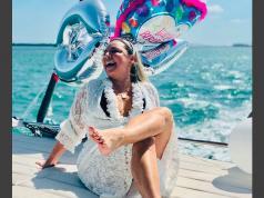 La ostentosa fiesta privada de la mamá de Maluma