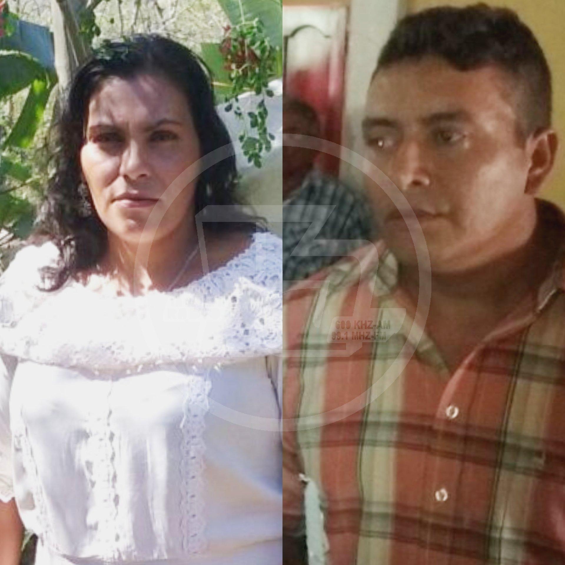 Ruth López Rodríguez y su victimario Arquímides Blandón
