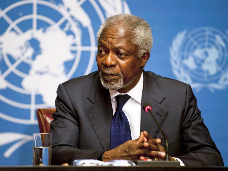 Fallece el ex secretario general de la ONU Kofi Annan