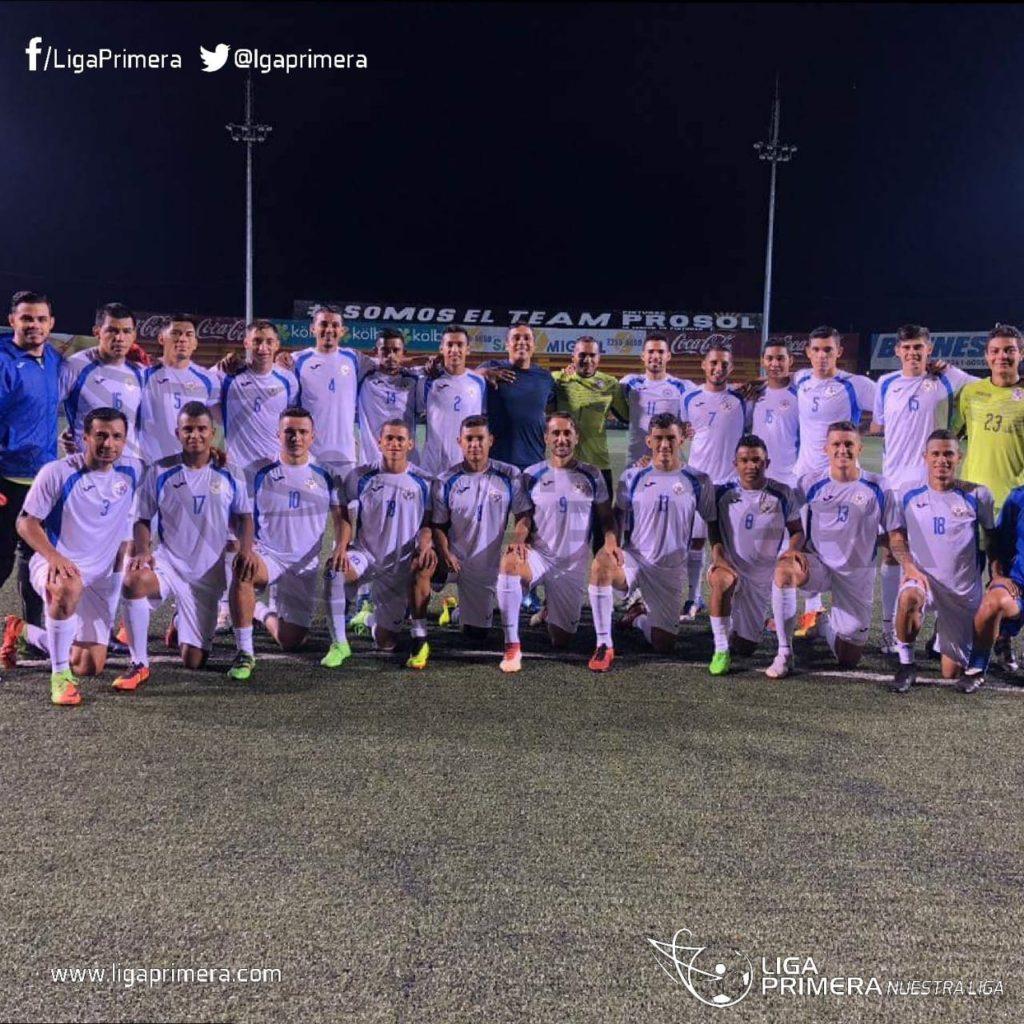 Selección de Fútbol de Nicaragua 2018