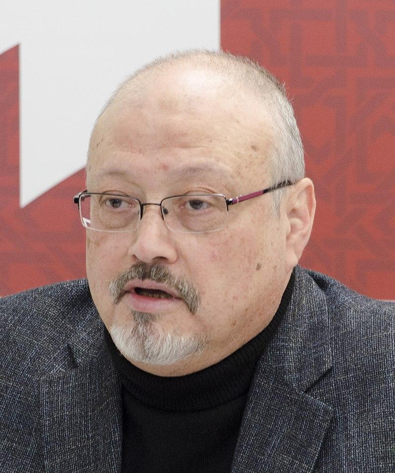 El periodista Jamal Khashoggi, en marzo de 2018