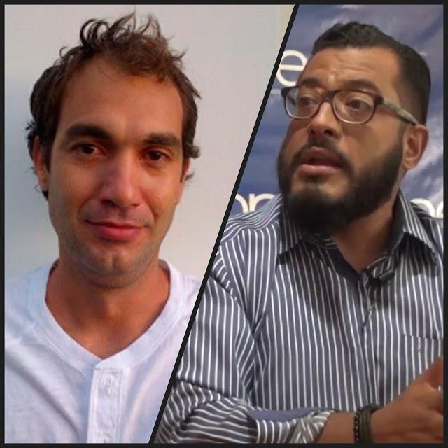 Paz Varela y Felix Maradiaga