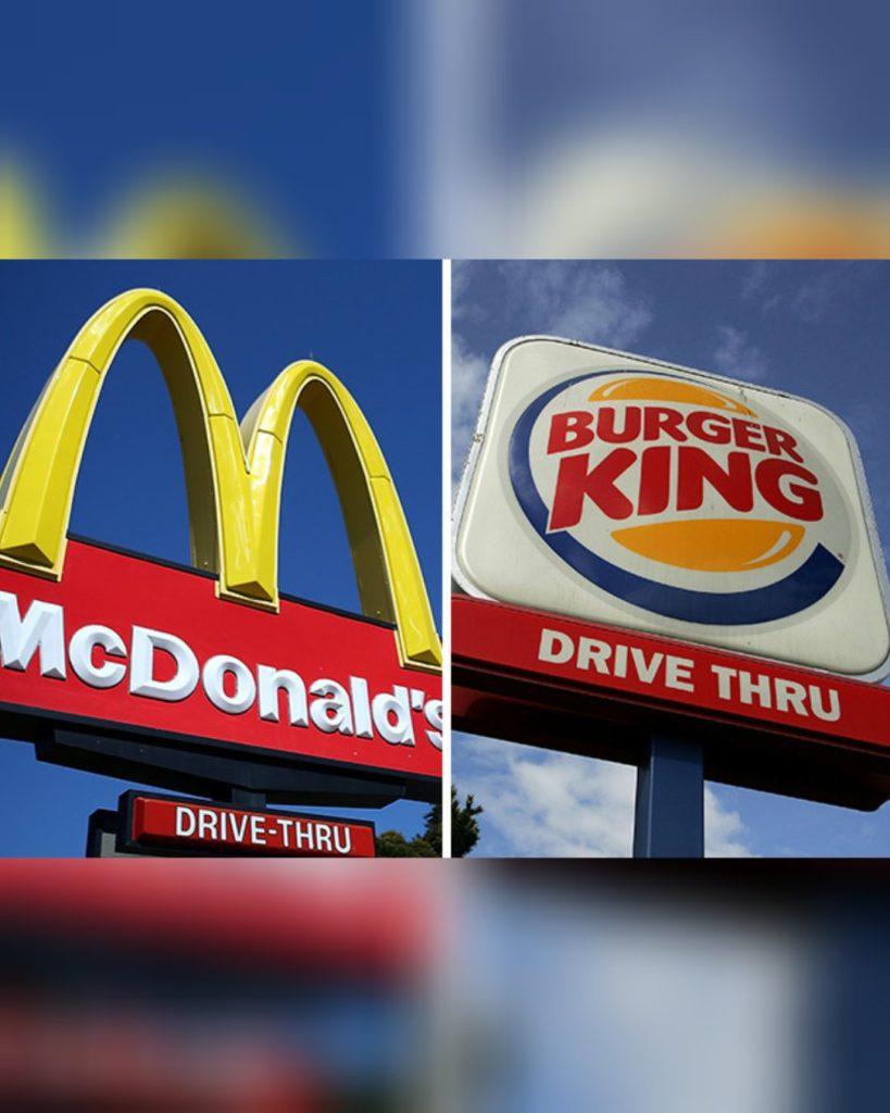 McDonalds y Burger King salieron reprobados