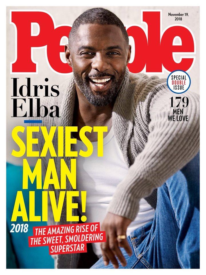 La portada de Idris Elba para People