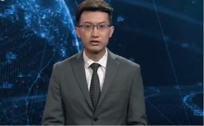 Xinhua presenta un robot presentador de noticias que trabaja 24 horas al día