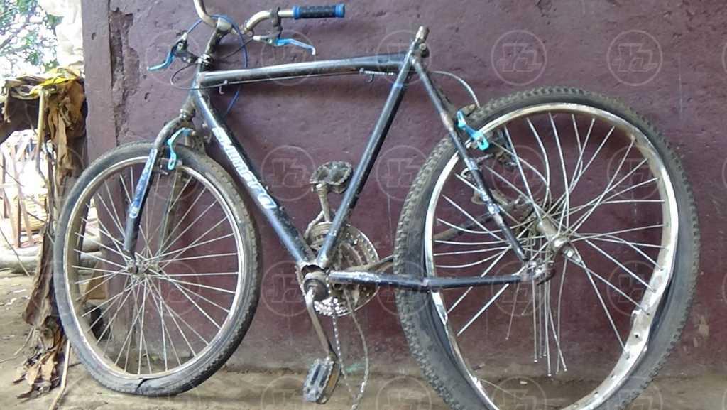 Ciclista fallecido