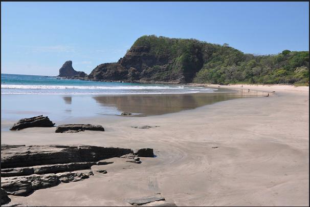 Playa Maderas en Nicaragua