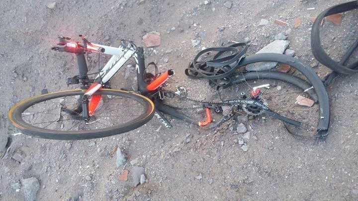 Ciclista muere en accidente de tránsito