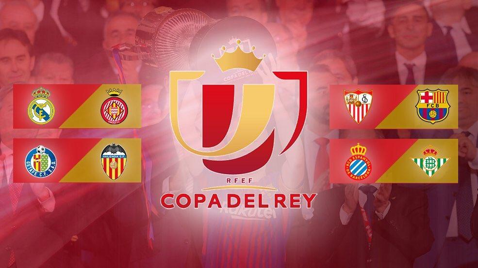Real Madrid-Girona y Barcelona-Sevilla en Cuartos de final ...