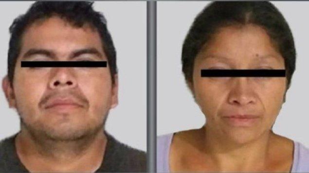 La pareja de monstruos de Ecatepec, México