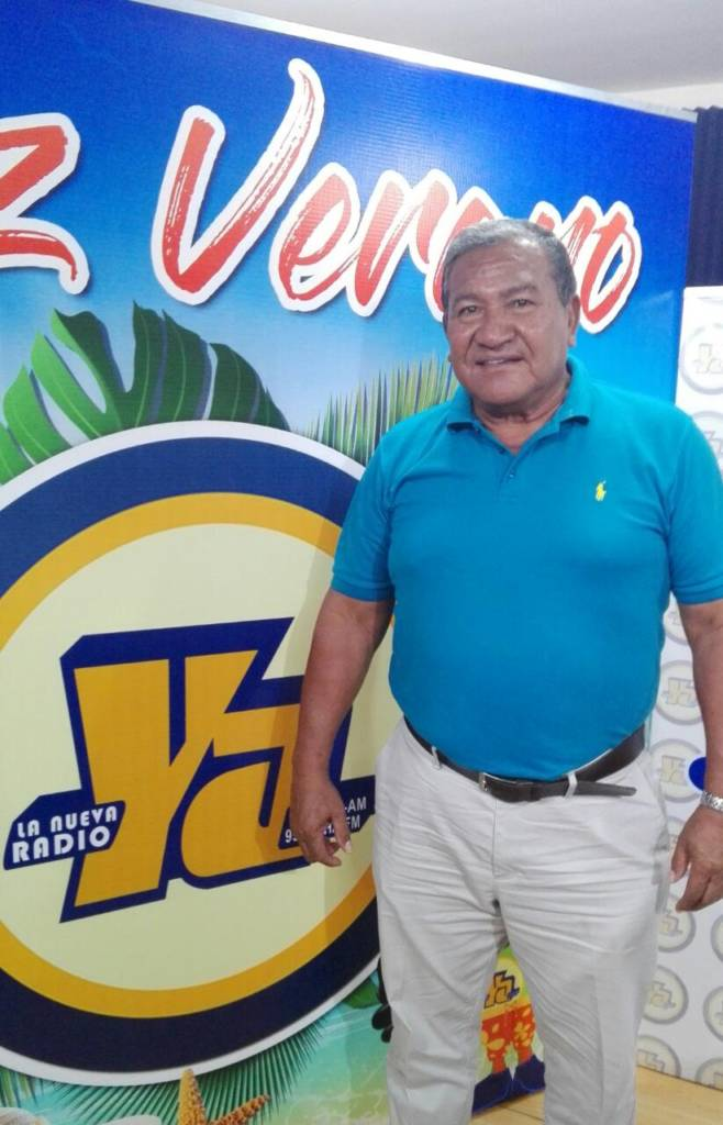 El ex pelotero Ernesto López