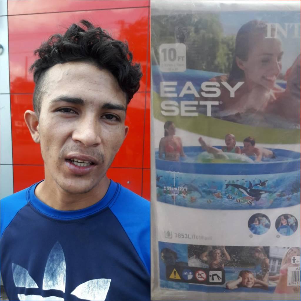 El detenido Jonathan Antonio Flores Tercero