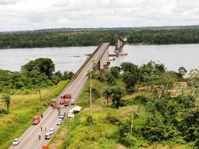 Se Derrumba Puente En Brasil Se Desconoce El Número De Víctimas