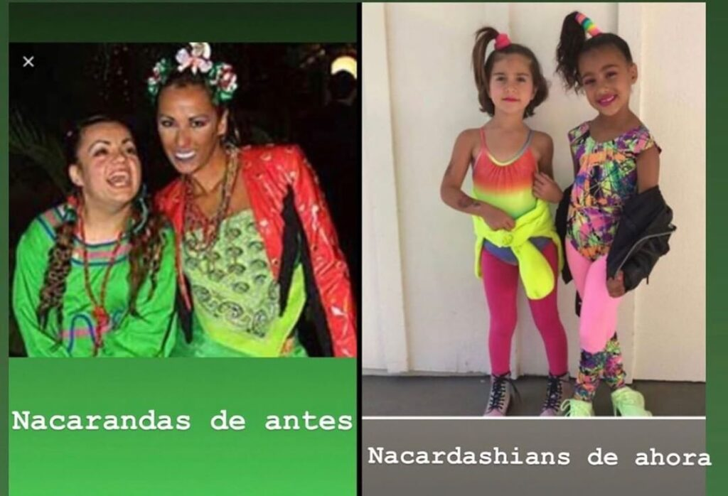 Nacarandas y las pequeñas Kardashians